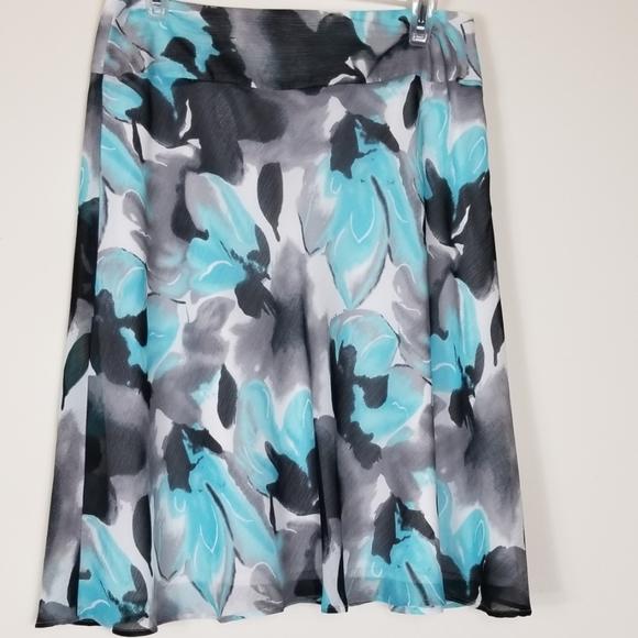 Cato Dresses & Skirts - Women's Cato size 8 floral print skirt